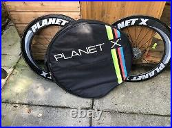 Carbon Wheels Plant X, With Rear Shimano Ultegra 10 Speed Cassette 30 X 12