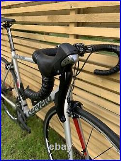 Cervelo R3 Carbon Road Bike 56cm Mavic Wheels Shimano 105 Groupset