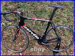 Cervelo S2 Carbon Road Bike Shimano Ultegra Di2 Size 61cm XL