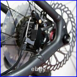 Clarks Road, MTB, Hybrid Flat Mount Cable Operated Hydraulic Disc Brake Set