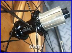Corima 47mm WS Black Disc Brake Clincher Wheels Shimano