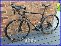 Cube Attain SL Disk 56cm Road Bike Large Shimano 105 hydraulic brakes