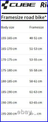 Cube Attain SL Road Bike, 58cm, Full Shimano 105 Groupset