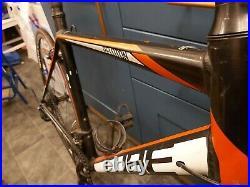Cube peloton road bike, 56cm, full Shimano 105, carbon forks, 2x11