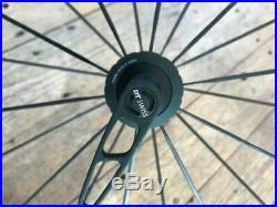 DT Swiss PR1400 Dicut OXiC Shimano 11spd Matte Black Road Bike Wheelset + Maxxis