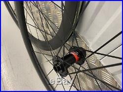 Disc Brake Road Bike Wheels Carbon Clincher Tubeless Disc Brake 45mm Wheelset