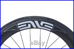 ENVE Classic 65 PowerTap Road Bike Wheel Set 700c Carbon Tubular Shimano 10s