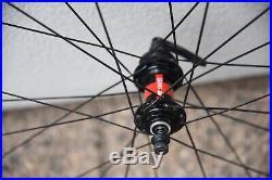 ENVE SES 3.4 Carbon 700c Clincher Road Bike Disc Wheel Set DT Swiss 240s Shimano
