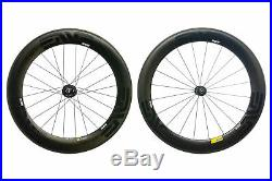 ENVE SES 7.8 PowerTap Road Bike Wheel Set 700c Carbon Clincher Shimano 11 Speed