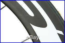 Easton EC90 TT Road Bike Wheel Set 700c Carbon Tubular Shimano 10 Speed