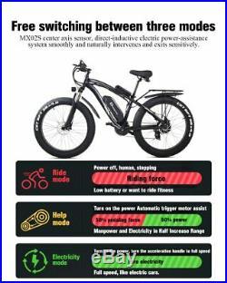 Electric Mountain Bike 1000 watts, 48 volts 60km range