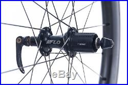 FLO 90/60 Ceramic Carbon Aluminum Clincher Road Bike Wheel Set 700c 11s Shimano