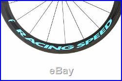 Fulcrum Racing Speed Road Bike Wheel Set Carbon Tubular Shimano 11 Speed