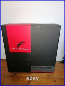 Fulcrum racing quattro aluminium with shimano 105 cassette, 11 speed