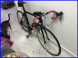 Full carbon fibre Kuota road bike frame, 56cm, Shimano Ultegra, Fulcrum wheels