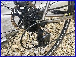 Genesis Equilibrium Disc Ti 56cm (Medium) Titanium Frame Road Bike Shimano 105