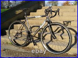 Genesis Equilibrium Ti 56cm Hunt Wheels Shimano 105 Titanium Road Bike + Spares
