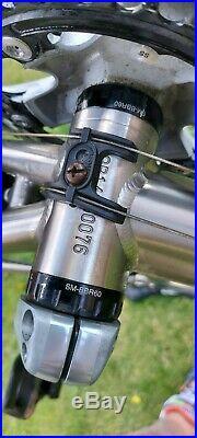 Genesis Equilibrium Titanium Disc 58cm Shimano 105 Hydraulic Mavic 3T