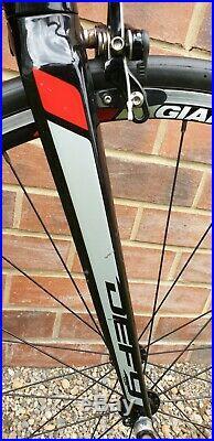 Giant Defy 1 2014 Aluminium Road Bike XL Frame Shimano 105 Black/red