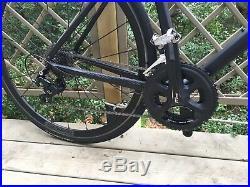 Giant Defy Custom Build in stealth black M/L Shimano 105 road bike