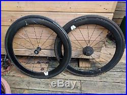 Giant Slr 0 Aero Carbon Road Bike 55mm Clincher/tubeless Wheelset, Shimano 11-sp