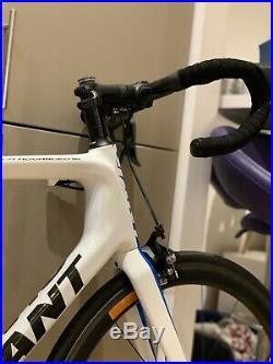 Giant TCR Advanced SL Carbon Road Race Bike Large size. Shimano Ultegra DI2