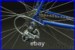 Gios Compact Steel Road Bike 60cm Shimano Dura-Ace 7400 7s Made in Italy Blue