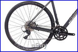 Gravel Bike 28 Zoll CHRISSON GRAVEL ROAD ONE unisex18G Shimano Sora schwarz