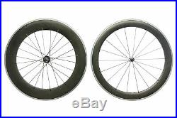 HED Jet 6 / 9 Road Bike Wheel Set 700c Carbon Clincher Shimano 10 Speed