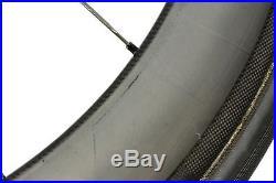 HED Stinger 6 Road Bike Wheel Set 700c Carbon Tubular Shimano 10 Speed