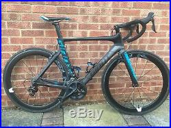 Immaculate Giant Propel Advance Pro 2 Carbon Road Bike Carbon Wheels Shimano 105