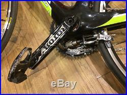 KUOTA Kougar Carbon Road Bike (54cm) Shimano Ultegra, Mavic Wheels, Rotor Cranks