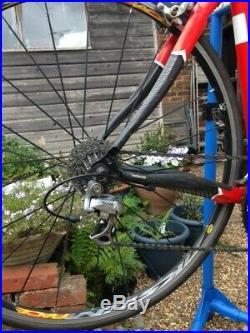 Kona Zing Deluxe, mens road bike, 56cm, Shimano 105 groupset, Mavic wheelset