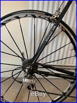 LOOK KX Light Carbon Fiber Handmade 56cm Road Bike Shimano Dura-Ace 9-Speed
