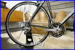 Legendary Klein Aura V 56cm AluminumCarbon Road Bike 105 Shimano Top Tube 58.5cm
