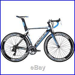 Lightweight Aluminium Road Bike Shimano 14 Speed Mens Racing Bicycle 700C 54CM