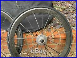 Lightweight Meilenstein Clincher Wheelset Carbon Shimano, with GP5000