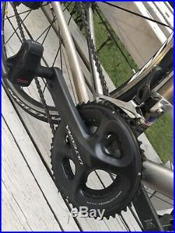 Litespeed Tuscany Titanium Road Bike 55cm Shimano Ultegra 11 Speed ENVE Fork