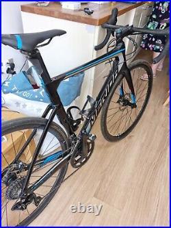 MERIDA REACTO 4000 full carbon road bike Shimano 105 54 cm Frame upgrades
