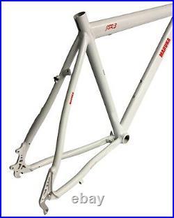 Maruka JSR3 Alloy Road Bike Frame 47cm Small 650c Pearl White Disc & Rim Brakes