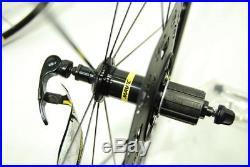 Mavic Aksium Elite Rim Brake Road Bike 700C Wheelset 10/11 Speed NEW SHIMANO