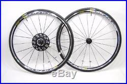 Mavic Aksium Road Bike Wheelset + Mavic Yksion Tires 700C 10/11 Speed SHIMANO