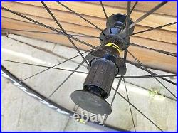 Mavic Aksium wheelset rim brake 700c front & rear. Shimano/Sram 11/10 speed