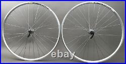 Mavic CXP Elite Rims Shimano RS40 Hubs Silver Road Bike Wheelset 8 9 10 11 Speed