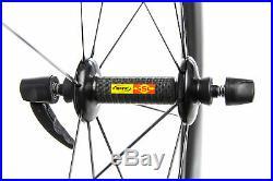 Mavic CXR 80 Road Bike Wheel Set 700c Carbon Tubular Shimano 11 Speed
