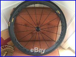 Mavic Cosmic Carbone 40 Road Bike Wheel Set 700c Carbon Clincher Shimano 11s