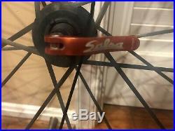 Mavic Cosmic Carbone SLR /SSC Road Bike Wheelset Shimano 10/11 Spd Hub