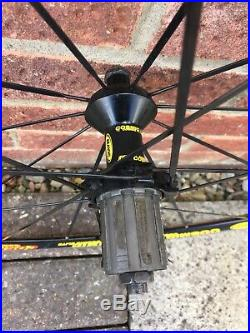 Mavic Cosmic Elite road bike 30mm Aero Wheels Clinchers Shimano Freehub Body