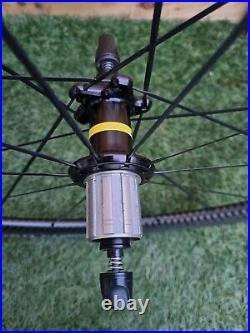 Mavic Cosmic Pro Exalith Wheel Set 11 Speed Shimano Freehub Great Condition