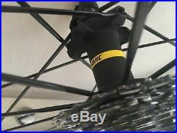 Mavic Ksyrium Pro Exalith Road Bike Wheels Wheelset Shimano/Sram Hub + Tires